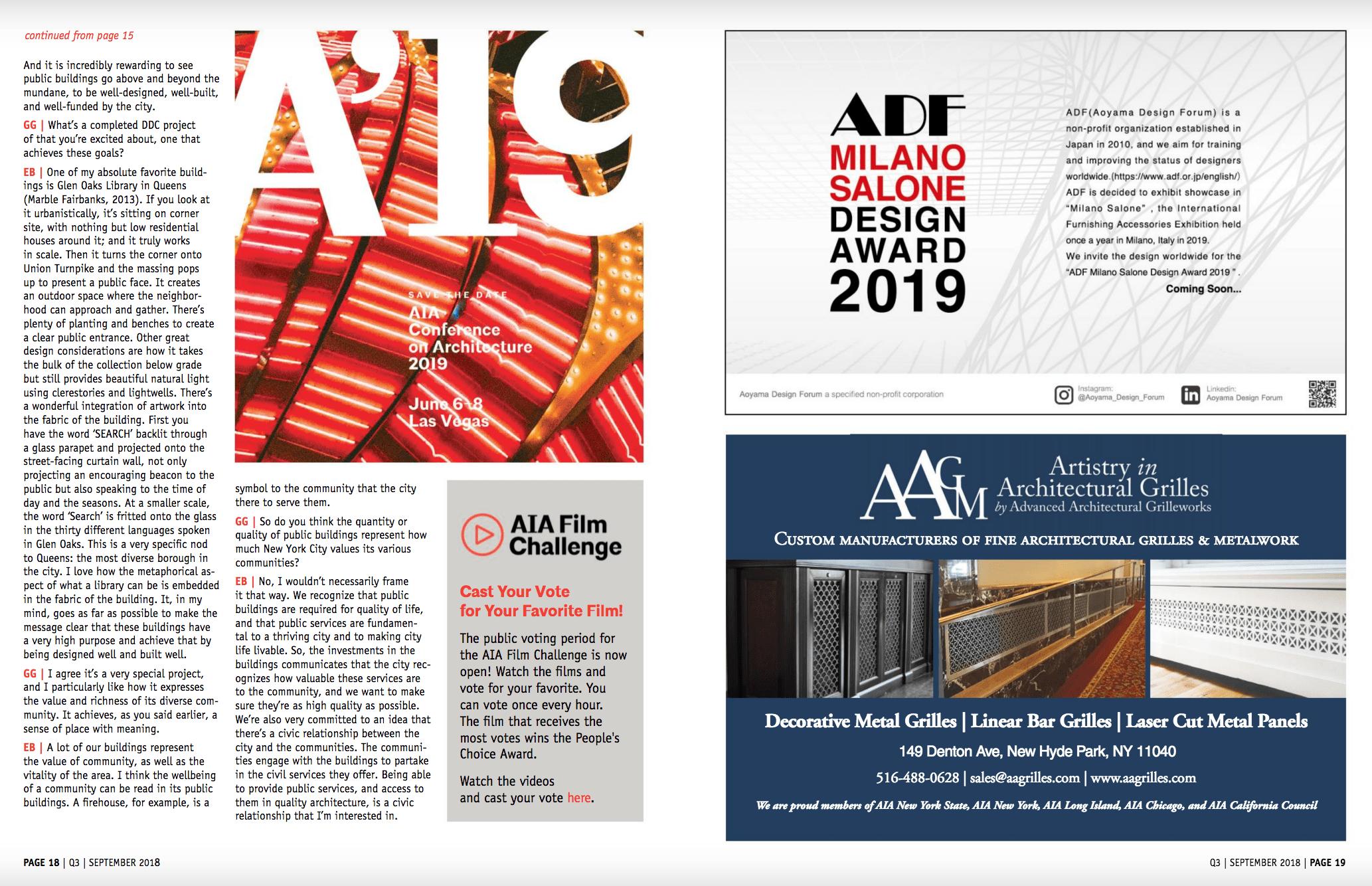 AIA NYS DigitalWebMagazineQ3ADF-Milano-Salone