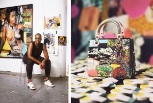 DIOR LADY ART #4 世界の現代アーティストがディオールのアイコンバッグを再解釈