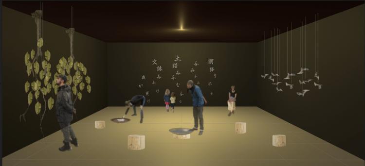 カンジムジカ展示会場イメージ図