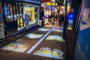 ネイキッド、パブリックアートで交通整理の課題解決 - 渋谷スペイン坂