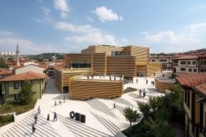 The Building Blocks of Art-itechture: Odunpazarı Modern Museum designed by Kengo Kuma