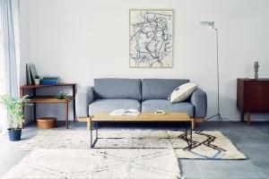 IDÉE デザイナー、マリナ・ボーティエのデザインによる新作ソファ「MATINÉE SOFA」 発売
