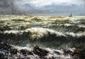 「クールベと海 フランス近代 自然へのまなざし」展開催