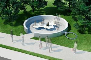 パブリックアート《渋谷の方位磁針 ハチの宇宙》- 渋谷の新しいランドマーク新宮下公園に誕生