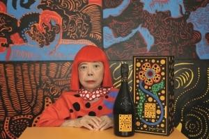 ヴーヴ・クリコ×草間彌生のコラボ・シャンパーニュを世界先行発売 - 伊勢丹新宿店に体験型アート空間登場