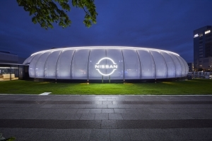 Nissan Pavilion, Nissan's interactive entertainment facility, opens