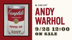 現代アート作品の共同保有プラットフォーム ANDART - アンディー・ウォーホル作品オーナー権を販売