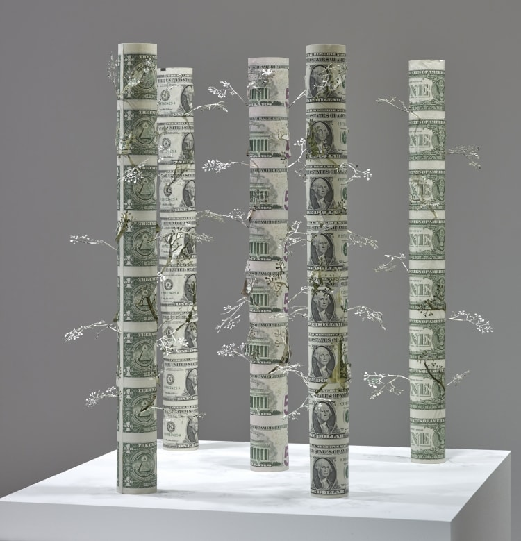 adf-bangkok-art-biennale 2020-19_yuken teruya-money tree-un-cut us dollar