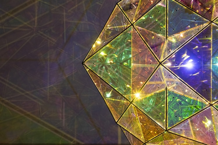 Olafur Eliasson, The exploration of the centre of the sun, 2017