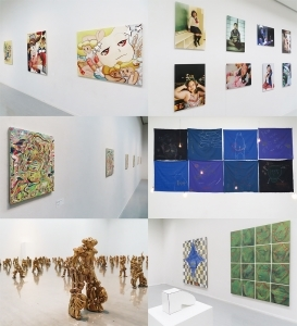 名古屋の若手作家による美術展「motion#5」を開催
