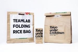 コンセプトストアFirsthandが米袋をアップサイクルしたチームラボのサスティナブルなエコバッグを限定発売