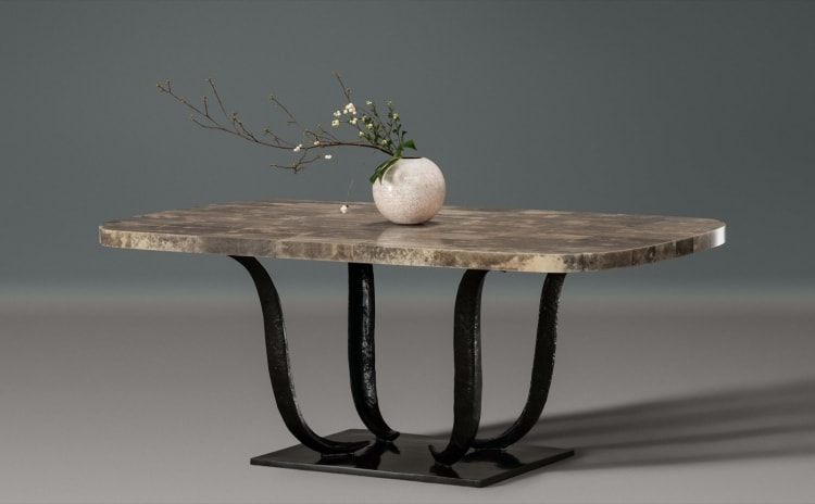 AlexanderLamont_Fougere Dining Table Shagreen3.jpg