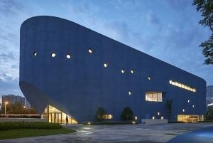 建築デザイン事務所OPENの最新プロジェクト - 図書館とシアターを融合させた「青いくじら」が上海に建設