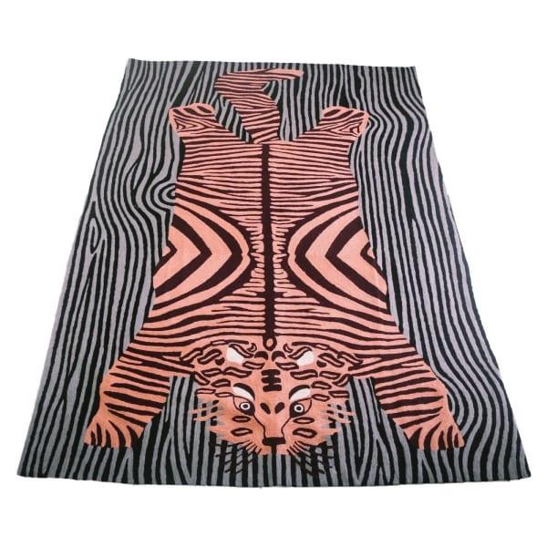 adf-web-magazine-bengal tiger-carpet-pink-stripe