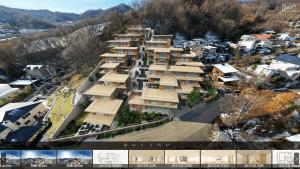 建築家 隈研吾が設計監修したラグジュアリー・レジデンス「プロスタイル札幌 宮の森」の特設3Dサイトがローンチ