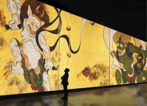 デジタルアート展「巨大映像で迫る五大絵師 −北斎・広重・宗達・光琳・若冲の世界−」が2021年7月より開催