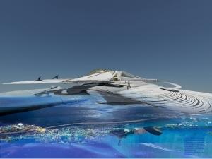 海洋プラスチックのホテル-構造が進化するサステイナブルな設計