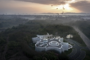 A city art hall hidden in the woods   Sino-Italian Cultural Exchange City Reception Center (Chengdu, China) designed by aoe
