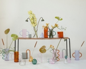 Sophie Lou Jacobsen's fancy glassware collection: the mindful enrichment of everyday objects