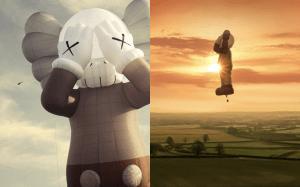 《KAWS:HOLIDAY》第6弾 | 高さ約42メートル世界最大級の熱気球が初飛行開始