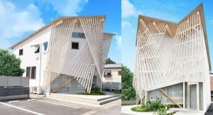 芋の繊維を建築に-隈研吾設計「S-ブランド」が茨城県境町に完成