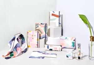 MOGLEA × DELFONICS アメリカの紙製品ブランドとのコラボレーション ー アートを身近に感じられる文房具や雑貨