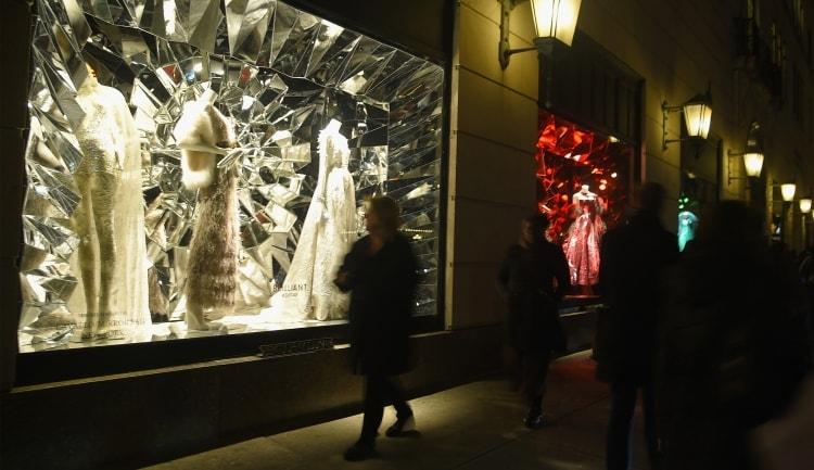 2015 Holiday Shopping Windows - New York, New York