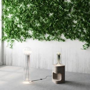 デザインスタジオStudio d'Armes × Verre d'Ongeによるテーブルランプとフロアランプの新しいデュオ - Gigi & Gigi Grand