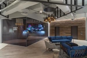 Verizon NY Broadcast Production Studio Architect by Kostow Greenwood Architects