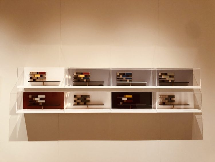 adf-web-magazine-modular scaled models of perriand's furniture at the charlotte perriand the modern life exhibition