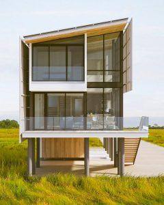 2021年度Architizer A+アワード受賞 - パルナジアン アーキテクツによるソルトボックスレジデンス