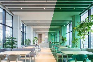 外装とゲストルーム全てがバイカラーのデザインホテル「toggle hotel suidobashi(トグルホテル水道橋)」が誕生