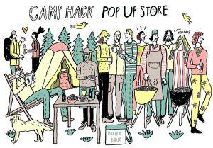日本最大級のアウトドアWEBメディア「CAMP HACK」が初のPOP-UP STORE-渋谷パルコにて開催