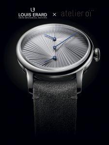 ルイ・エラールとスイスの建築デザイン事務所アトリエ・オイのコラボレーション腕時計「Louis Erard × Atelier Oï」が発売
