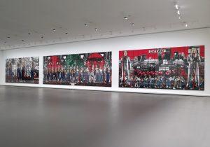 エスパス ルイ・ヴィトン東京でギルバート&ジョージによる「Class War, Militant, Gateway」展が開催