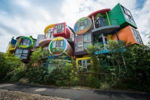 アーティスト&建築家 荒川修作+マドリン・ギンズの三鷹天命反転住宅がコロナの影響で存続危機のためのクラウドファンディングをスタート