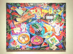 静物画とそのメッセージ - Kate Pincus-Whitney(ケイト・ピンカス・ホイットニー)「Paradise a la carte」展