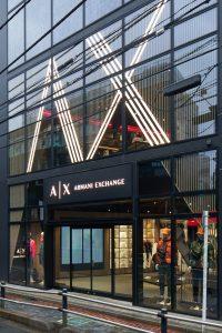 A|Xアルマーニ エクスチェンジが世界初のコンセプトストアを原宿・キャットストリートにオープン