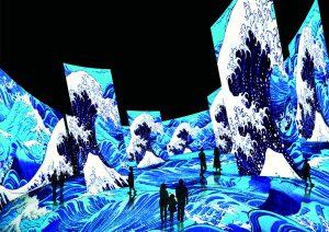 角川武蔵野ミュージアム|オープン1周年記念企画 360度体験型コンテンツ「浮世絵劇場from Paris」開催