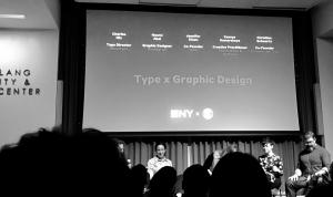 Type x Graphic Design NY Event