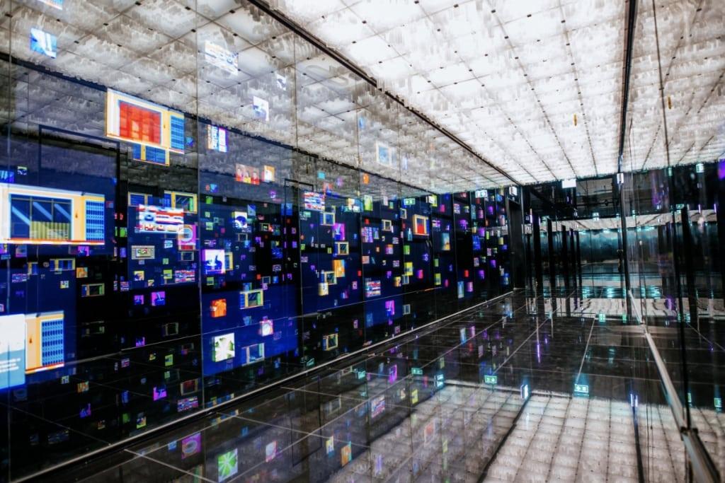 Digital Corridor and Bangkok Upside Down