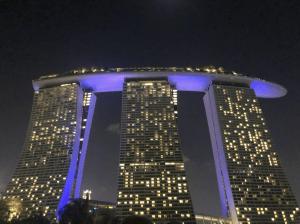 シンガポールの街 - 建築と色彩と風水と
