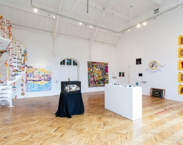 adfwebmagazine-Installation view of London Summer Intensive_Work in Progress at Camden Arts Centre. Courtesy Camden Arts Centre and Slade School of Fine Art. Photo_ Rob Harris3