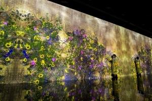 「チームラボ 永遠の海に浮かぶ無常の花」展 金沢21世紀美術館