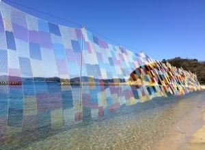 参加型アートプロジェクト「そらあみ」|五島列島