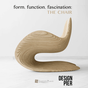 """Design Pier Presents """"form. function. fascination: The Chair"""""""